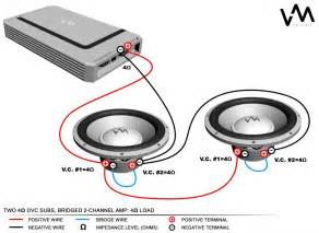 similiar single voice coil wiring diagram keywords how to wire 4 ohm dual voice coil subs