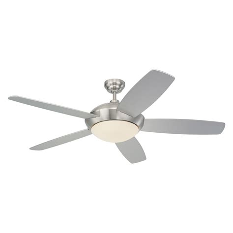 monte carlo fan shop monte carlo fan company sleek 52 in brushed steel