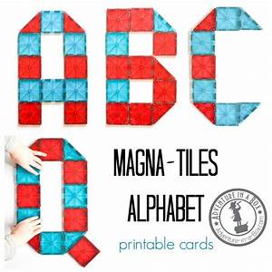 magna tiles alphabet printable cards adventure in a box With magnetic letter printables