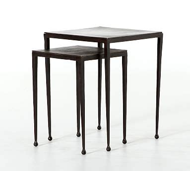 Pottery Barn Nesting Tables by Garnet Nesting Tables Pottery Barn