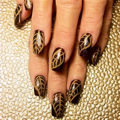 fall nail art design ideas easyday