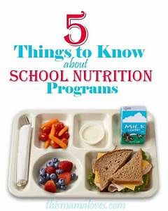 5 Things To Know About School Nutrition Programs