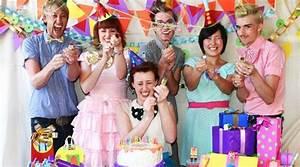 Fiestas de cumpleaños de adultos Handspire