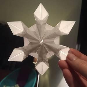 Let It Snow    Origami Snowflakes