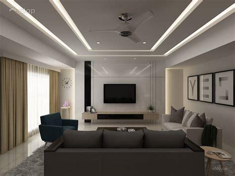 minimalistic modern living room terrace design ideas  malaysia atapco