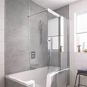 Badewanne Und Dusche Nebeneinander : wellness produkt hsk duschabtrennung ~ Lizthompson.info Haus und Dekorationen