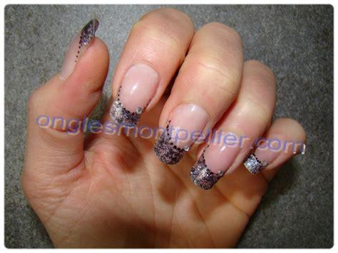 deco faux ongles photos ongles deco paillette
