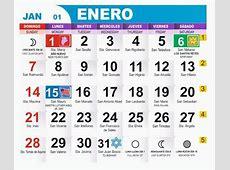 formatos de calendarios 2018 Pertaminico