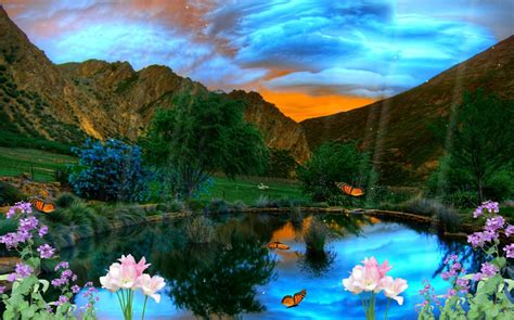 Animated Beautiful Nature Wallpaper - animated beautiful nature wallpaper wallpapersafari