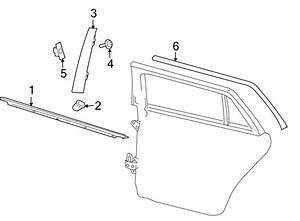 Volkswagen Jetta Wagon Door Window Belt Weatherstrip