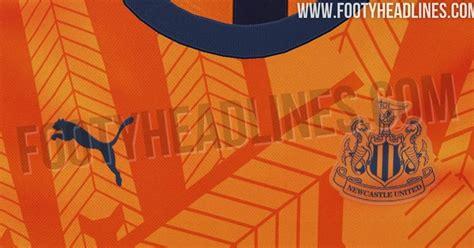 newcastle united kit leaked footy headlines