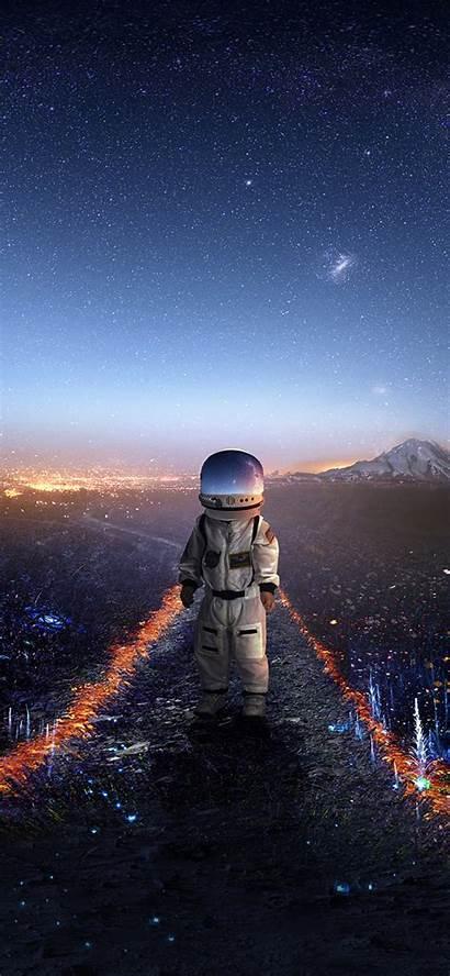 Astronaut Deviantart Iphone Artwork Wallpapers Kid Creative