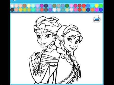 frozen coloring pages  kids frozen coloring pages