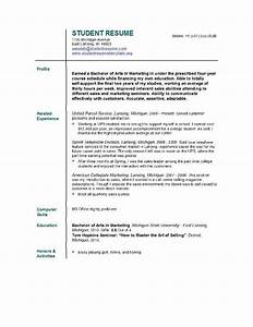 student resume templates student resume template easyjob With free resume templates for college students