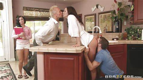 Lust In Kitchen With My Dogs Kendra Exotic Brick Danger In \