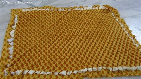 how to make a doormat from waste cloth how to make doormat with clothes doormat with waste