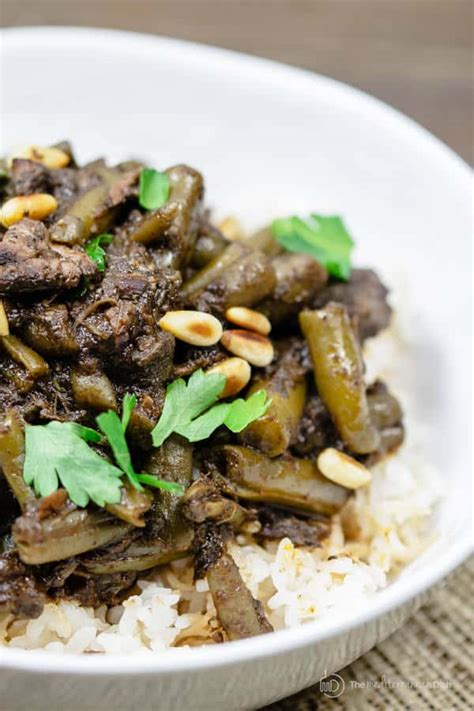 middle eastern beef stew recipe  green beans