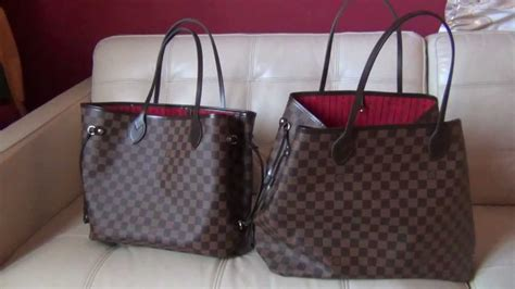 louis vuitton neverfull gm  mm review  comparison youtube
