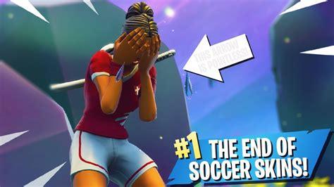 fortnite soccer skins youtube
