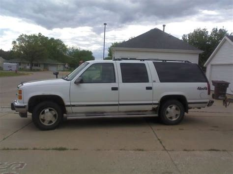 auto air conditioning service 1994 gmc 1500 parental controls find used 1994 gmc k1500 suburban sle sport utility 4 door 5 7l 4x4 in south sioux city