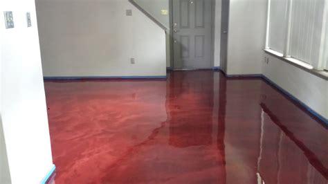 metallic  floor setting   trend   surecrete