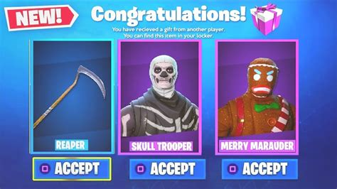 fortnite gifting new how to gift skins in fortnite season 5 fortnite