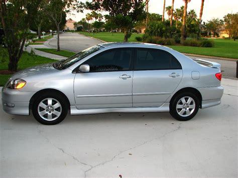toyota corolla 2005 2005 toyota corolla s 25k 15 200 obo ft lauderdale fl silver auto toyota