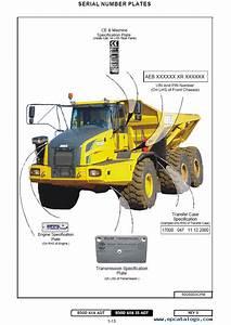 Bell Articulated Dump Truck B50d Download Pdf Set Of Manuals