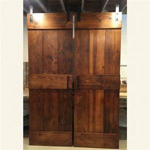 Farm style barn door furniture from the barn for Barn door furniture for sale