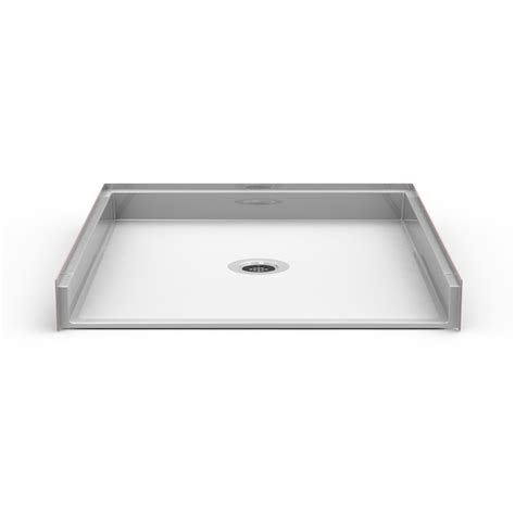 Shower Pans - barrier free 45 quot x 50 quot shower pan beveled threshold 1 2
