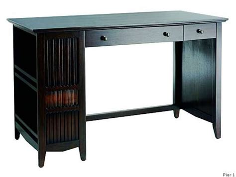 pier one imports desk around the house affordable desks sfgate