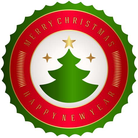 Merry Clipart - merry badge png clip gallery yopriceville