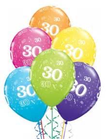 anniversaire mariage 30 ans ballons anniversaire 30 ans x6 mister