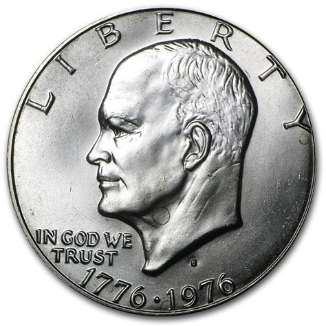 specifications eisenhower silver dollars 1976 s 40 silver eisenhower dollar bu type 1 eisenhower dollars 1971 1978 apmex