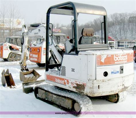 bobcat  compact excavator item