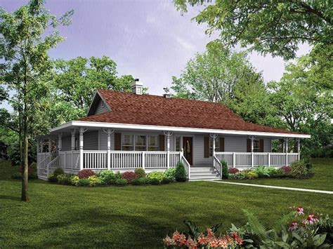 choosing country house plans  wrap  porch