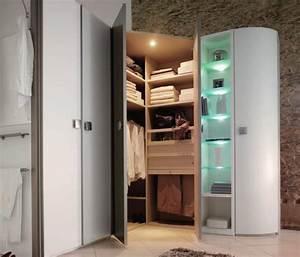 Petit Dressing D Angle : dressing d 39 angle blanc ouvert photo 9 10 magnifique ~ Premium-room.com Idées de Décoration