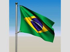 Animated Brazil Flag 3D CGTrader