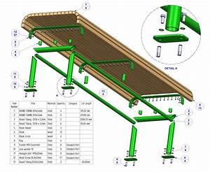 Woodwork Park Bench Kit PDF Plans