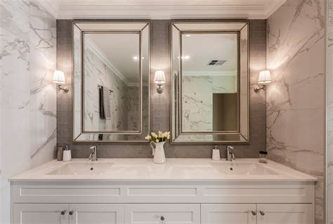 bathroom and kitchen tiles htons style ensuite completehome 4344