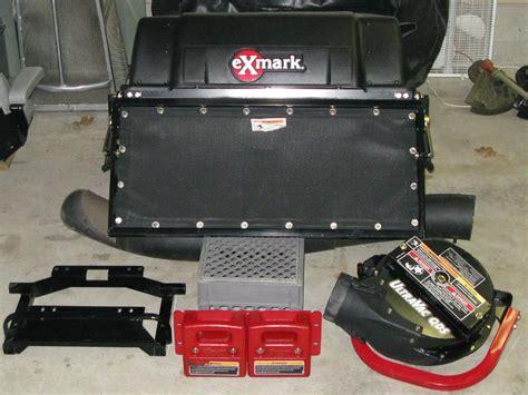 exmark ultra vac qds  lazer hp   lawnsite