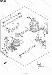 Suzuki Motorcycle 2003 Oem Parts Diagram For Throttle Body