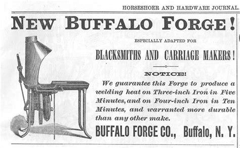 buffalo forge   ad  buffalo forge