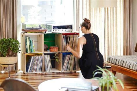 meuble rangement vinyle 42 meubles pour ranger des vinyles