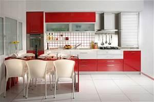 Küche Rot Streichen : eine rote k che so renovieren sie richtig ~ Markanthonyermac.com Haus und Dekorationen