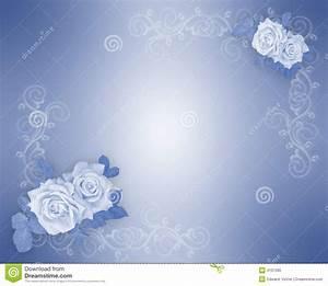 7 best images of blue background wedding border design for Wedding invitation designs color blue