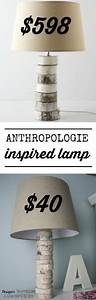 This, Is, Amazing, Come, Learn, To, Make, Your, Own, Diy, Stacked, Wood, Lamp, Inspired, By, Anthropologie, For