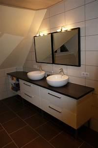meuble salle de bain ikea 2 vos r233alisations ou With plan de travail meuble salle de bain