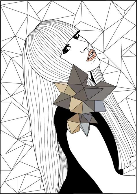 lady gaga coloring pages coloring home