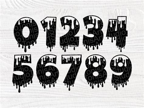 dripping font svg dripping alphabet dripping cut files dripping monogram svg files
